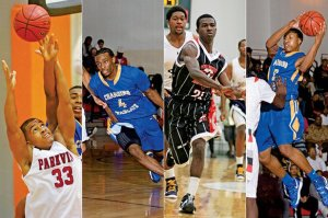 The Future: Anton Beard, Dayshawn Watkins, Imara Ready, Kevaughn Allen (L-R) Courtesy: Arkansas Democrat-Gazette