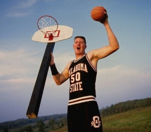 """Yep, """"Big Country"""" Bryant Reeves was born in Ft. Smith."""