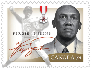 Ferguson Jenkins stamp