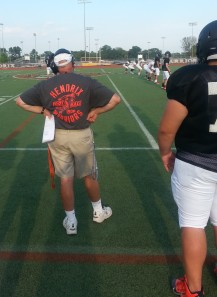As you can tell by these T-shirts, the Hendrix football program is embracing its history.