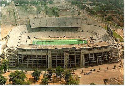 Legion Field in Birmingham, Alabama.