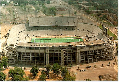 Legion Field in Birmingham, Alabama.