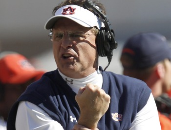 As head coach, Gus Malzahn doesn't have a single major conference title to his credit .... yet.