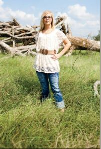 Lindsey Agerton, former member of the Vilonia High cheerleading squad. Courtesty Arshia Khan of Sync, 2011