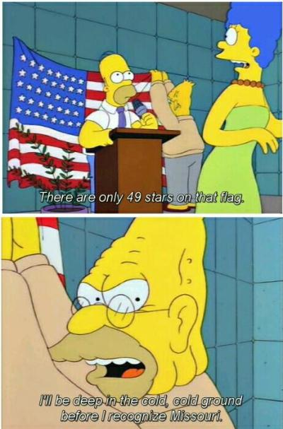 When it was made obvious which Springfield the Simpsons don't live in.