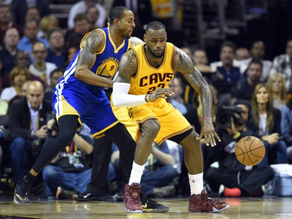 Despite LeBron's 40 ppg, Iguodala's resistance has been vital to the Warriors' title surge.
